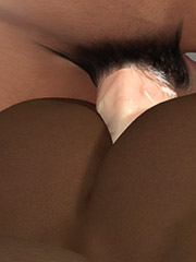 White dude rammed the tight hole of hot ebony babe