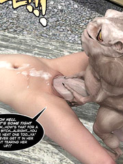 Poor babe gets her fucking holes full of monster cocks!