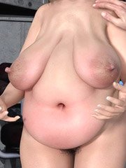 Hot bbw milfs with milky big tits suffer from immense fucking desire!